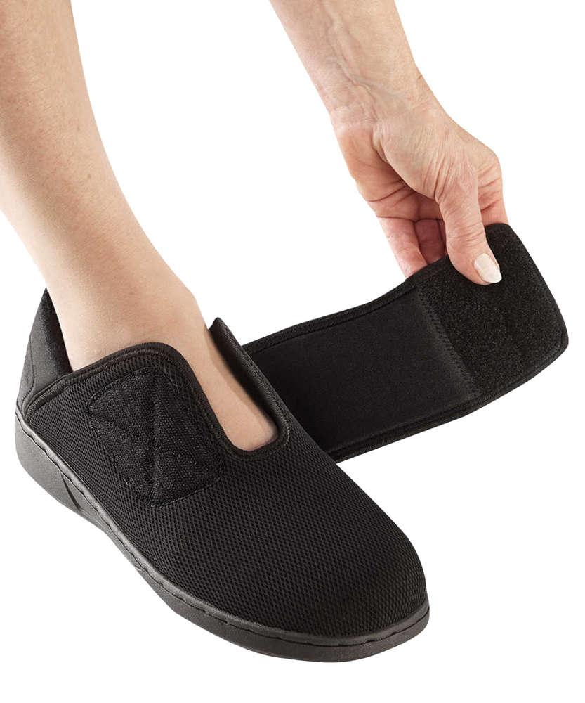 *Antimikrobielle Schuhe* Extra breite Damen Komfortschuhe